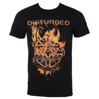 tee-shirt métal pour hommes Disturbed - Burning Belief - ROCK OFF, ROCK OFF, Disturbed