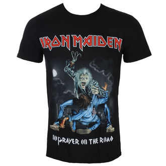 T-shirt hommes Iron Maiden - No Prayer On The Road - Noir - ROCK OFF, ROCK OFF, Iron Maiden