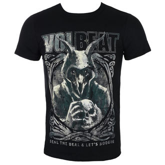 tee-shirt métal pour hommes Volbeat - Goat With Skull - ROCK OFF, ROCK OFF, Volbeat