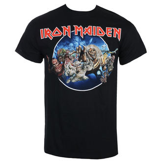 T-shirt hommes Iron Maiden - Wasted Years - Noir - ROCK OFF, ROCK OFF, Iron Maiden