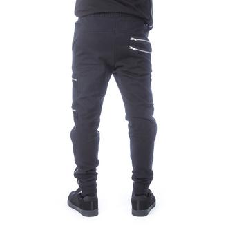 Pantalon pour hommes (survêtement) CHEMICAL BLACK - ROMEO - NOIR, CHEMICAL BLACK