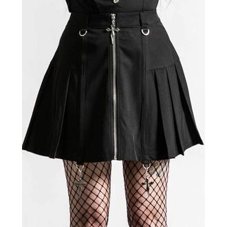 Jupe pour femmes KILLSTAR - Rosalyn Mini - Noir, KILLSTAR