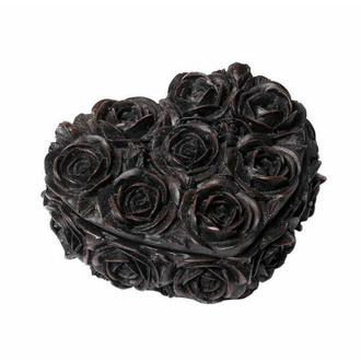 Décoration (boîte) ALCHEMY GOTHIC - Rose Heart - Noir, ALCHEMY GOTHIC