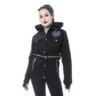 Veste pour femmes HEARTLESS - ROWENA - NOIR, HEARTLESS