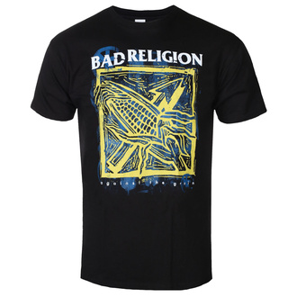 T-shirt pour hommes Bad Religion - Against The Grain - Noir - KINGS ROAD, KINGS ROAD, Bad Religion