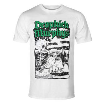 T-shirt pour hommes Dropkick Murphys - Trumpeter - blanc - KINGS ROAD, KINGS ROAD, Dropkick Murphys