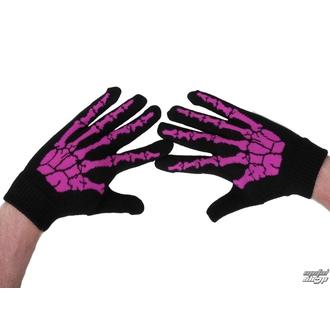 gants BONE - 59013-782 rose, ROCK DADDY