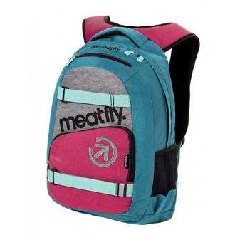 Sac à dos MEATFLY - EXILE 3 J - Ht.Turquoise / Ht.Rose, MEATFLY
