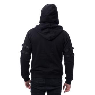 sweat-shirt avec capuche pour hommes - RYKER - CHEMICAL BLACK, CHEMICAL BLACK