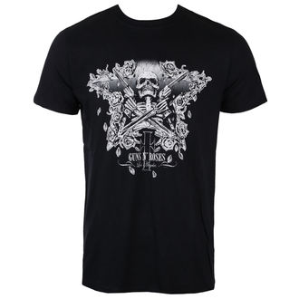 tee-shirt métal pour hommes Guns N' Roses - Skeleton Guns - ROCK OFF, ROCK OFF, Guns N' Roses