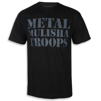 tee-shirt street pour hommes - OG TROOPS BLK - METAL MULISHA, METAL MULISHA