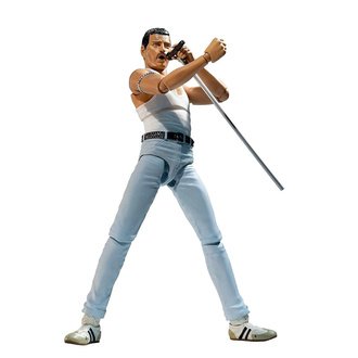 Figurine articulée Queen - Freddie Mercury - SH. Figuarts - Version Live Aid., NNM, Queen