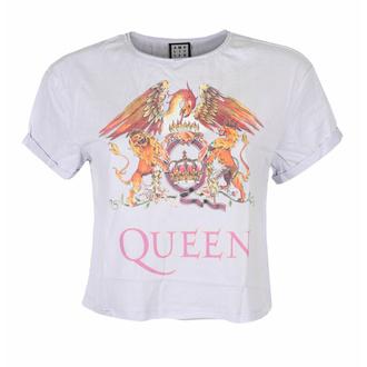 T-shirt pour femmes QUEEN - COLOUR CREST - PURPLE PHAZE - AMPLIFIED, AMPLIFIED, Queen