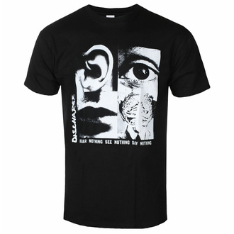 T-shirt pour homme DISCHARGE - HEAR NOTHING SEE NOTHING - RAZAMATAZ, RAZAMATAZ, Discharge