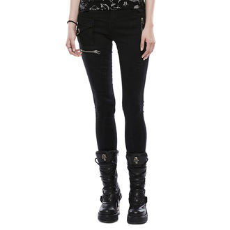 Pantalon femmes PUNK RAVE - Black Star, PUNK RAVE