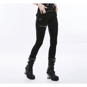 Pantalon femmes PUNK RAVE - Black Star, PUNK RAVE