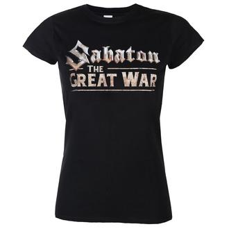 tee-shirt métal pour femmes Sabaton - The great war - NUCLEAR BLAST, NUCLEAR BLAST, Sabaton