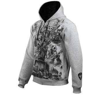 sweat-shirt avec capuche pour hommes - Metal Pandas - ALISTAR