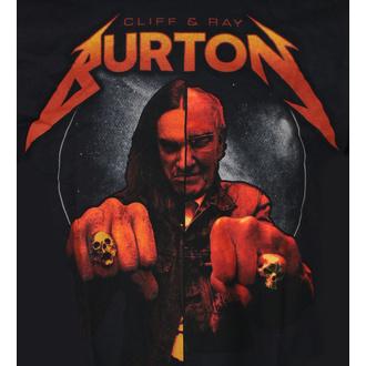 tee-shirt métal pour hommes Cliff Burton - Ray & Cliff Burton - NNM, NNM, Metallica