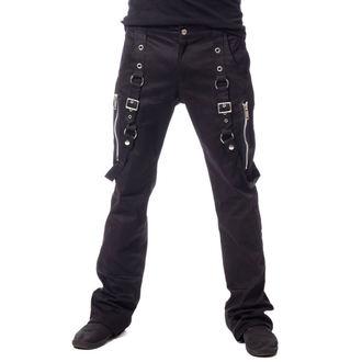 Pantalon hommes VIXXSIN - SABIEN - NOIR, VIXXSIN