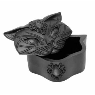 Décoration (boîte) ALCHEMY GOTHIC - Sacred Cat - Noir, ALCHEMY GOTHIC