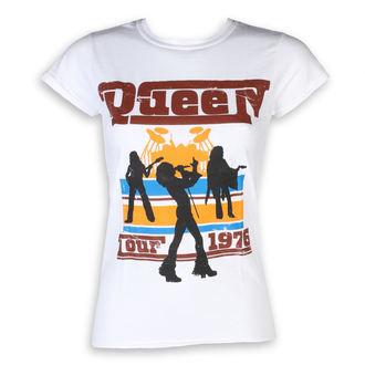 tee-shirt métal pour femmes Queen - 76 Tour - ROCK OFF, ROCK OFF, Queen