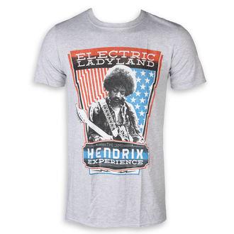 tee-shirt métal pour hommes Jimi Hendrix - Electric - ROCK OFF, ROCK OFF, Jimi Hendrix