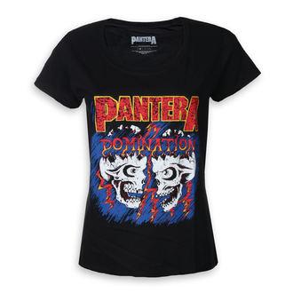 tee-shirt métal pour femmes Pantera - Domination - ROCK OFF, ROCK OFF, Pantera