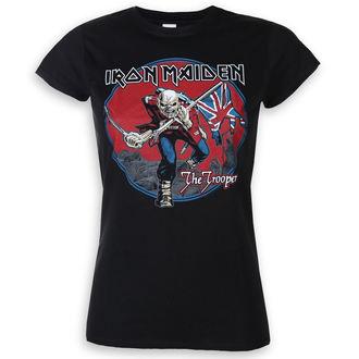 tee-shirt métal pour femmes Iron Maiden - Trooper Red Sky - ROCK OFF, ROCK OFF, Iron Maiden