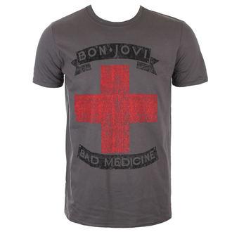 tee-shirt métal pour hommes Bon Jovi - BAD MEDICINE - PLASTIC HEAD, PLASTIC HEAD, Bon Jovi