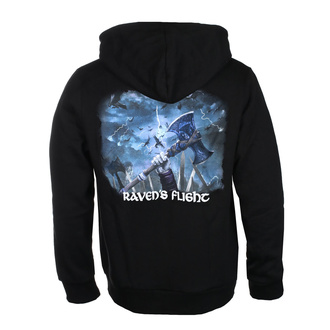 Sweat à capuche AMON AMARTH pour hommes - RAVEN'S FLIGHT - NOIR - PLASTIC HEAD, PLASTIC HEAD, Amon Amarth