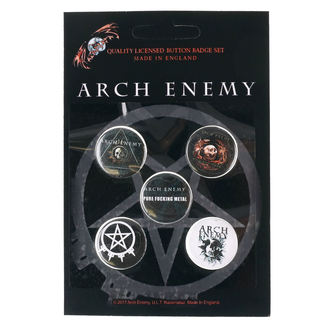 Badges Arch Enemy - RAZAMATAZ, RAZAMATAZ, Arch Enemy