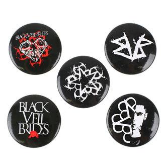 Badges Black Veil Brides - RAZAMATAZ, RAZAMATAZ, Black Veil Brides