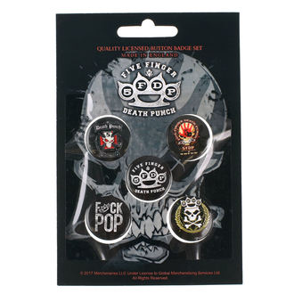 Badges Five Finger Death Punch - RAZAMATAZ, RAZAMATAZ, Five Finger Death Punch