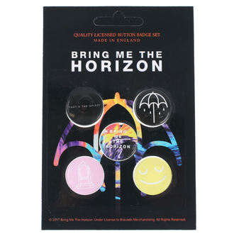 Badges Bring Me The Horizon - RAZAMATAZ, RAZAMATAZ, Bring Me The Horizon