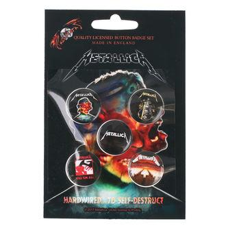 Badges Metallica - RAZAMATAZ - BB016
