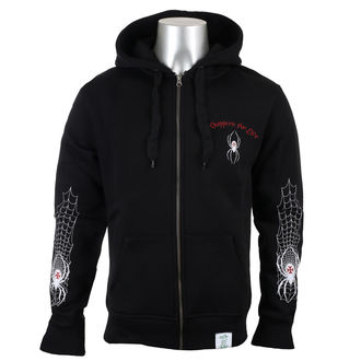 sweat-shirt avec capuche pour hommes - SPIDER - West Coast Choppers