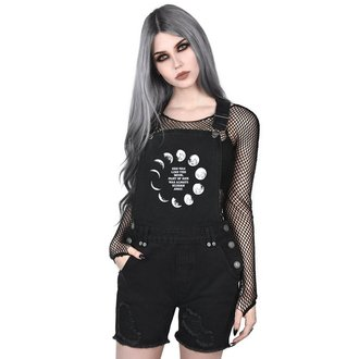 Salopette femmes KILLSTAR - MANY MOONS DENIM - NOIR, KILLSTAR