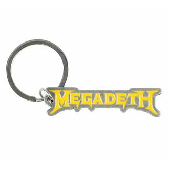 porte-clés (pendentif) MEGADETH - LOGO - RAZAMATAZ, RAZAMATAZ, Megadeth