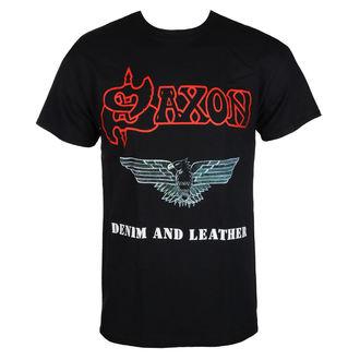 tee-shirt métal pour hommes Saxon - DENIM & LEATHER - RAZAMATAZ, RAZAMATAZ, Saxon