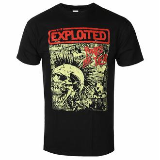 T-shirt pour hommes EXPLOITED - PUNKS NOT DEAD - NOIR - PLASTIC HEAD, PLASTIC HEAD, Exploited