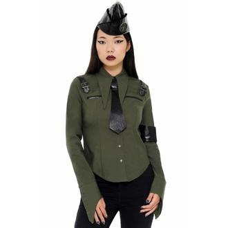 Chemise pour femmes KILLSTAR - Secret Mission - KAKI, KILLSTAR