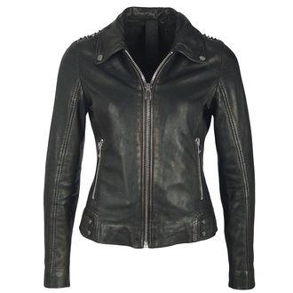 veste en cuir pour femmes - METTAL/BLACK - NNM, NNM