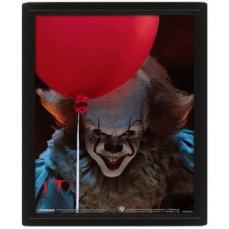 Tableau PENNYWISE - EVIL - PYRAMID POSTERS, PYRAMID POSTERS, Pennywise