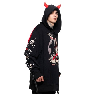 sweat-shirt unisexe KILLSTAR - She Devil - Noir, KILLSTAR