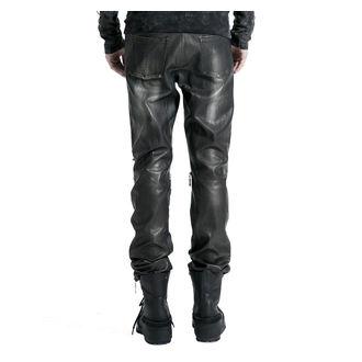 Pantalon hommes PUNK RAVE- Therion - noir / argent, PUNK RAVE
