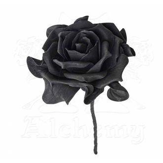 Décoration ALCHEMY GOTHIC - Single Black Rose with Stem, ALCHEMY GOTHIC