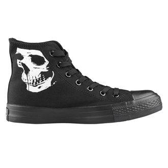 chaussures de tennis montantes unisexe - Skull 2 - AMENOMEN, AMENOMEN