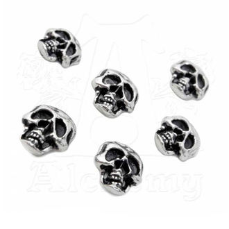 Boutons (décoration) ALCHEMY GOTHIC - Skull, ALCHEMY GOTHIC