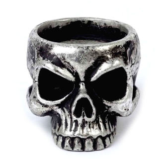 Photophore (décoration) ALCHEMY GOTHIC - Skull Tea, ALCHEMY GOTHIC